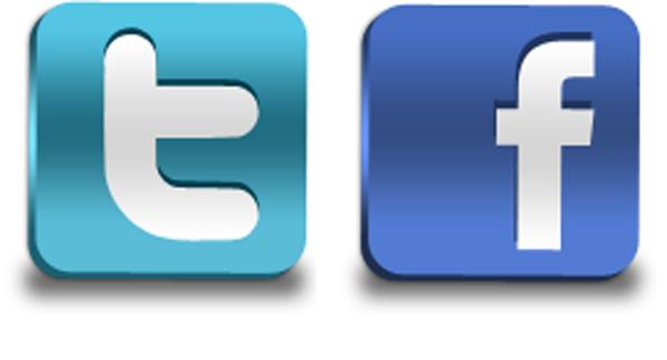 Facebook Twitter Logo Png Vector, Clipart, PSD.