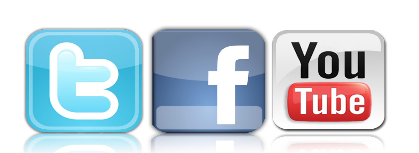 Social Media Facebook Twitter Instagram Youtube Logo Png Images.