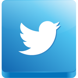 Twitter, 3d Icon Free of 3D Social Icons.