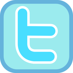 Twitter Icon Clip Art at Clker.com.
