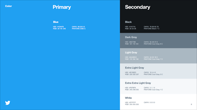 Twitter Colors.