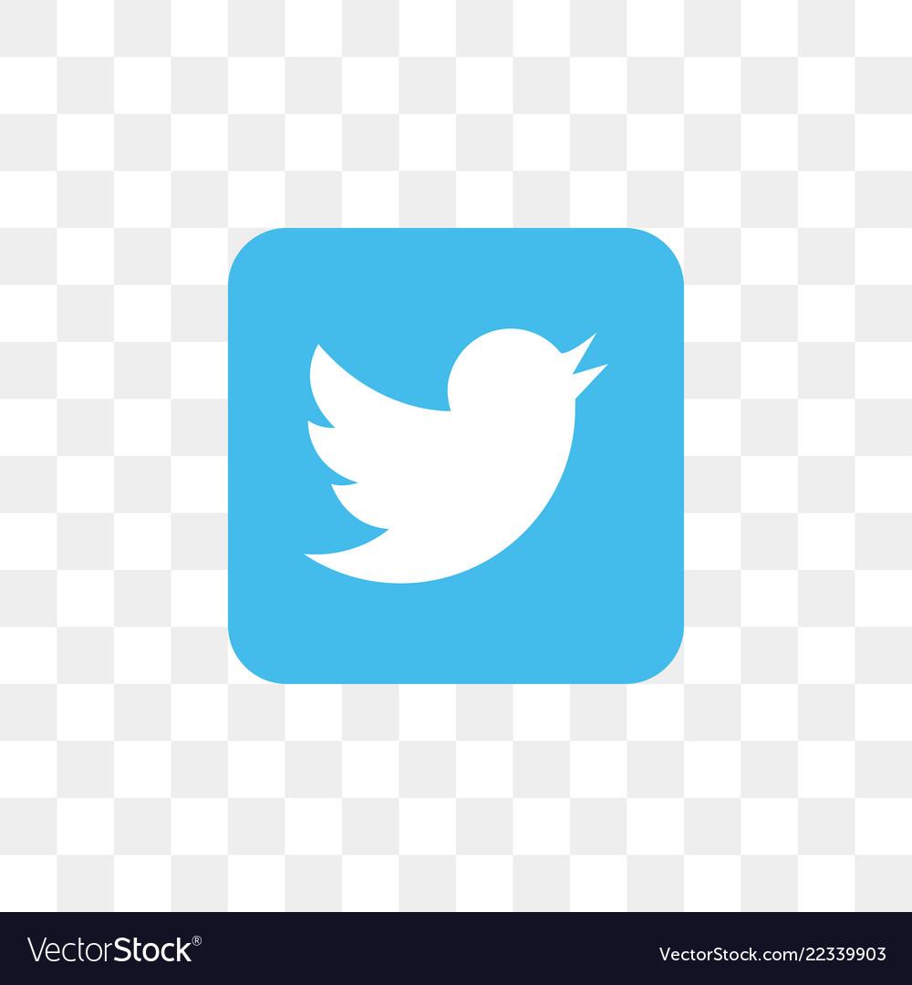 Twitter social media icon design template.
