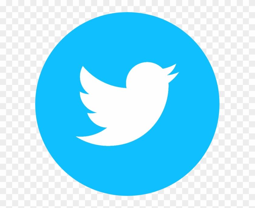 Circle Twitter Logo.