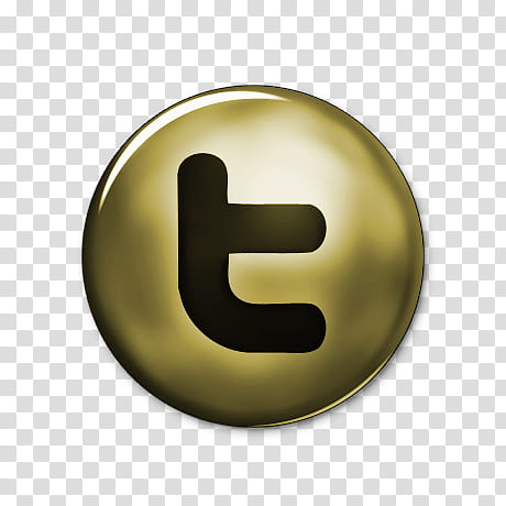 Network Gold Icons, twitter.