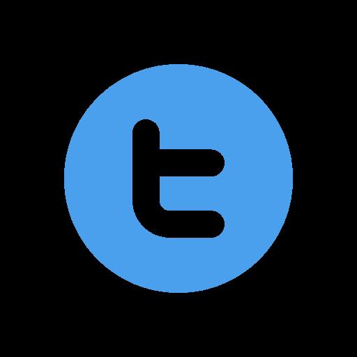 Bird, letter t, logo, twitter logo icon.