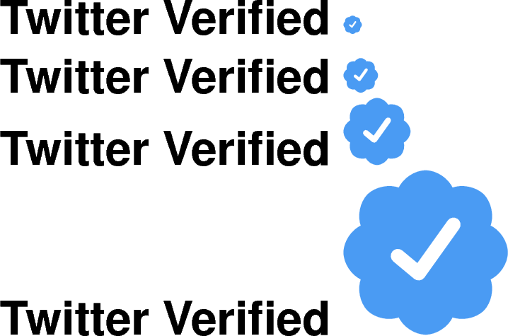 Twitter verified png, Twitter verified png Transparent FREE.