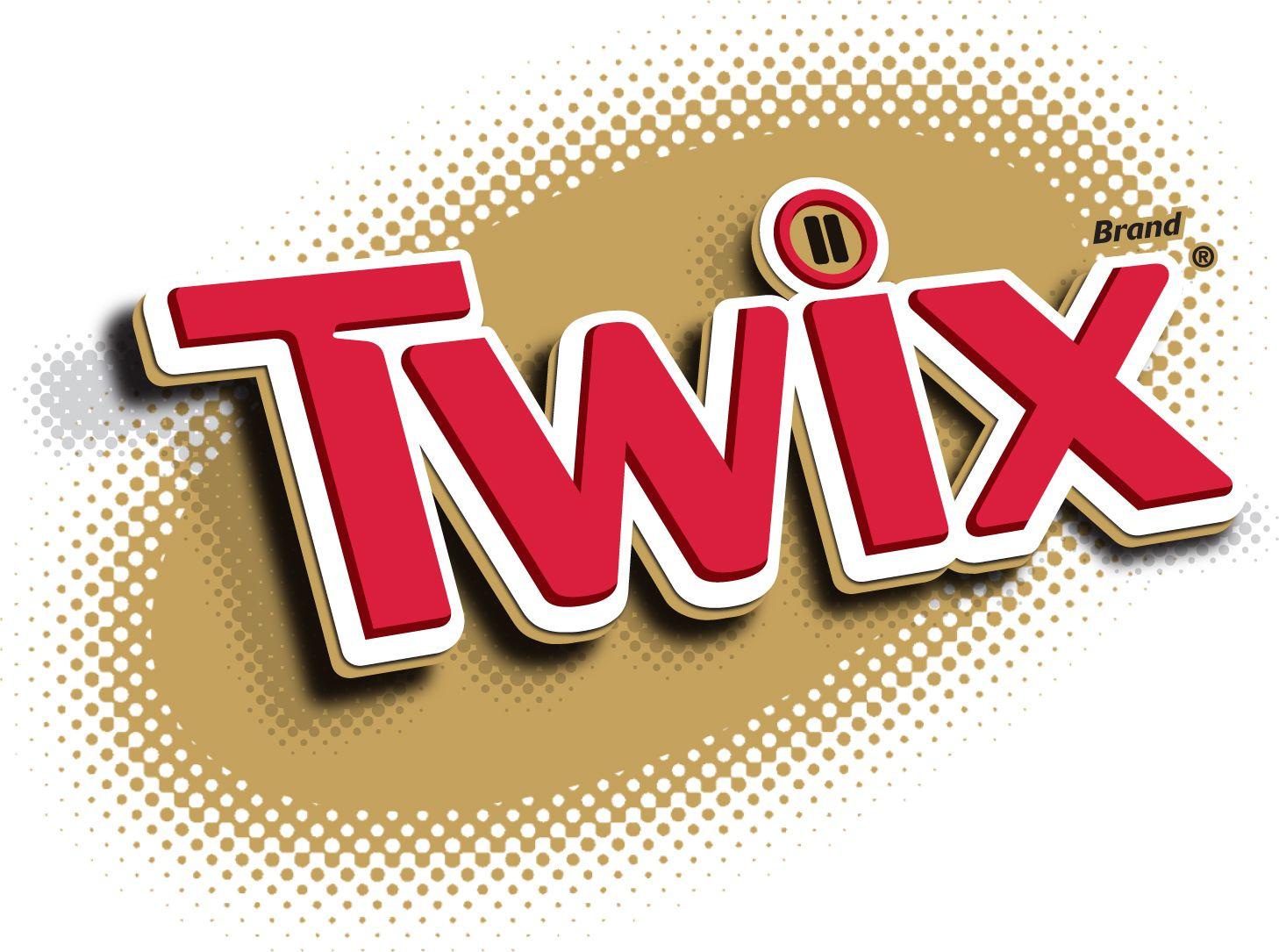 Twix Cholocate Candy Bar logo.