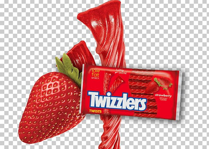 Twizzlers Strawberry Twists Candy Liquorice Lollipop PNG.