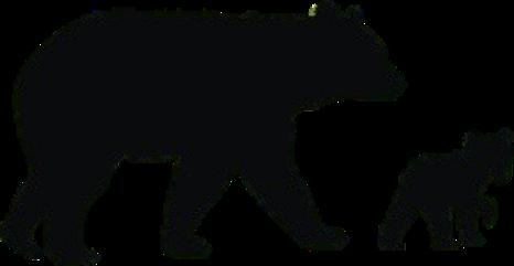 Black Bear Silhouette at GetDrawings.com.