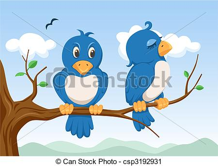 Two birds Illustrations and Clipart. 5,539 Two birds royalty free.