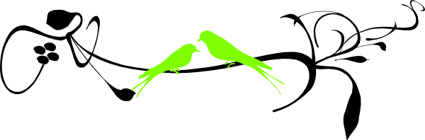 Two Birds On A Branch Clip Art at Clker.com.