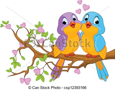 Two birds clipart - Clipground