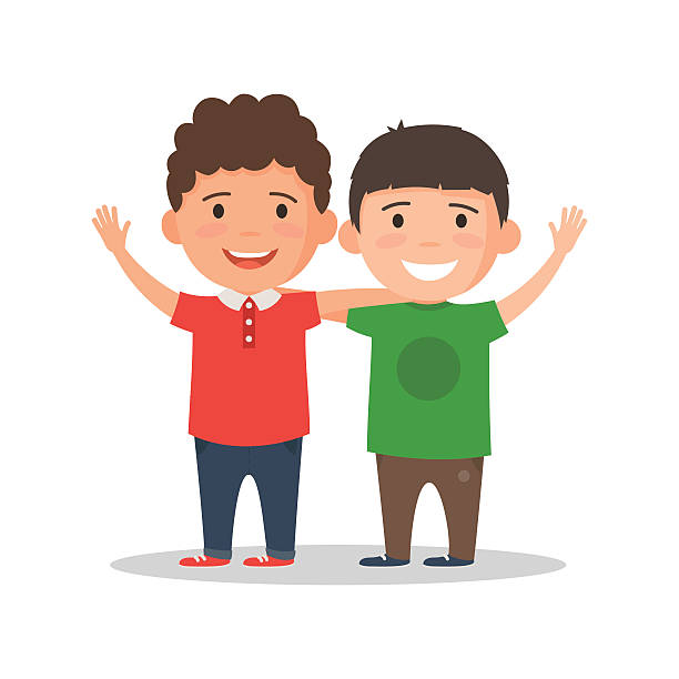 Brothers clipart.
