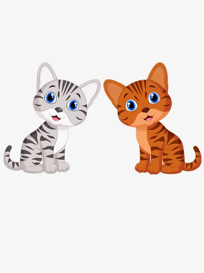 Two cats clipart 5 » Clipart Portal.