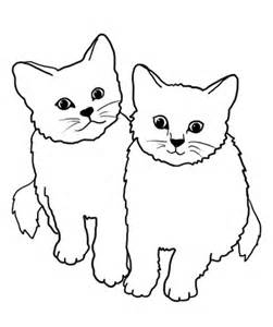 Cats Clipart Black And White.