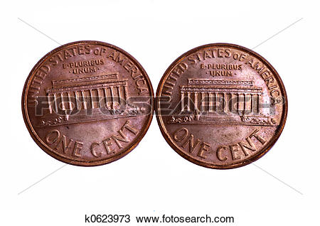 Stock Photo of Two Cents k0623973.