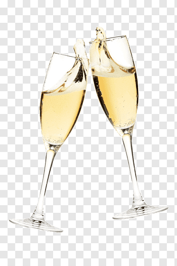 Champagne Glass cutout PNG & clipart images.