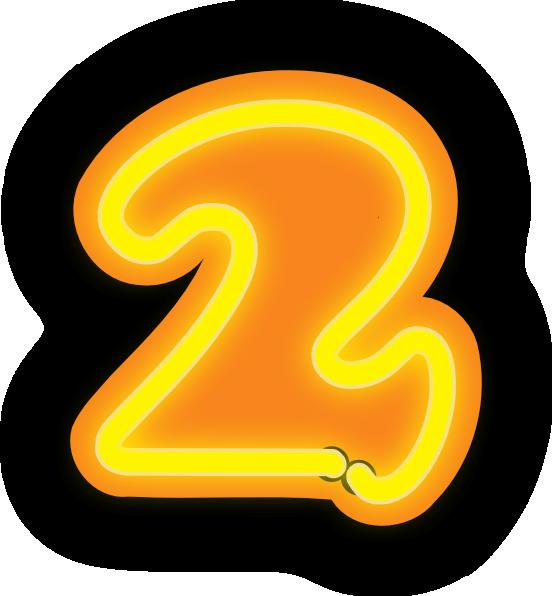 Number Two Clip Art at Clker.com.