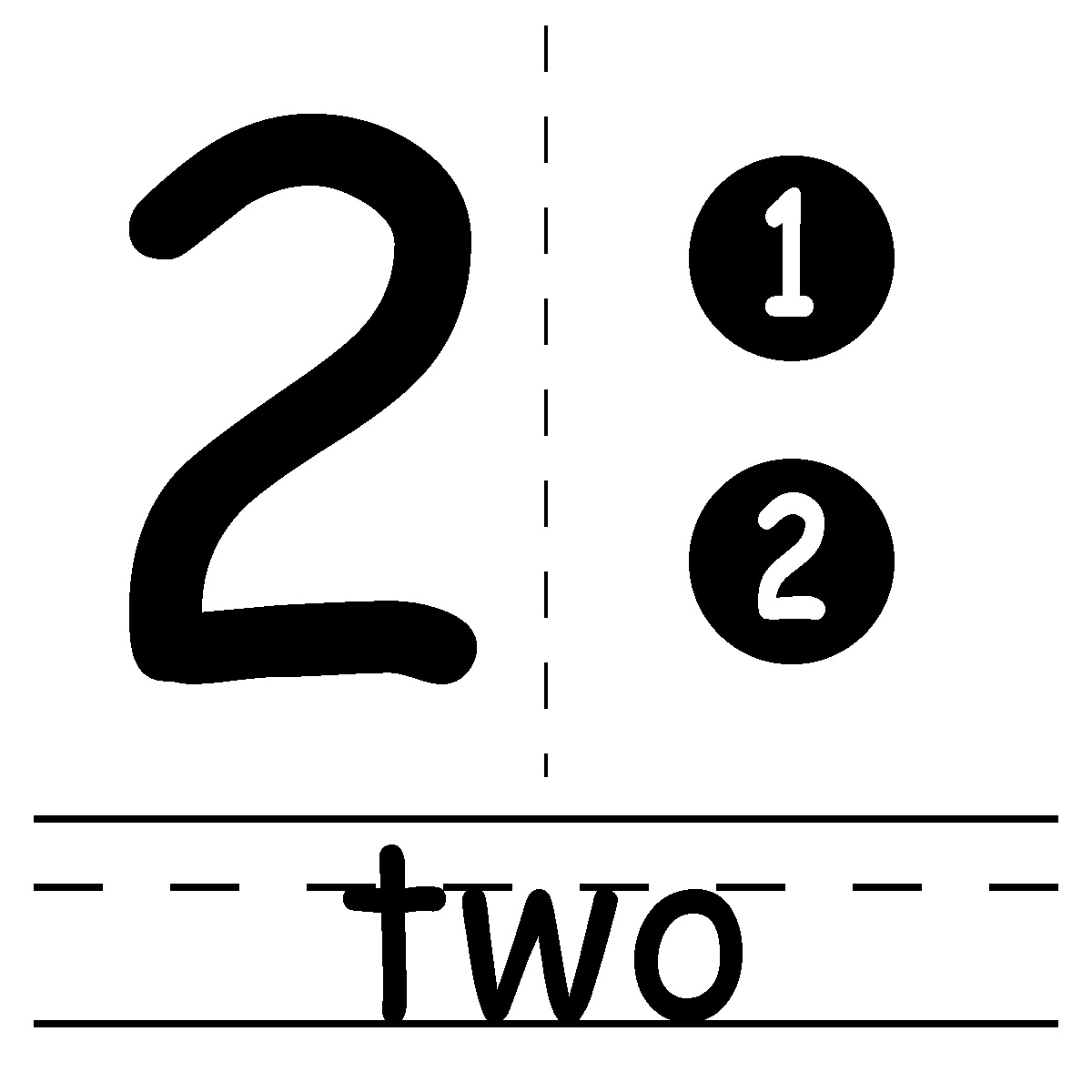Free Number 2 Clipart Black And White, Download Free Clip.