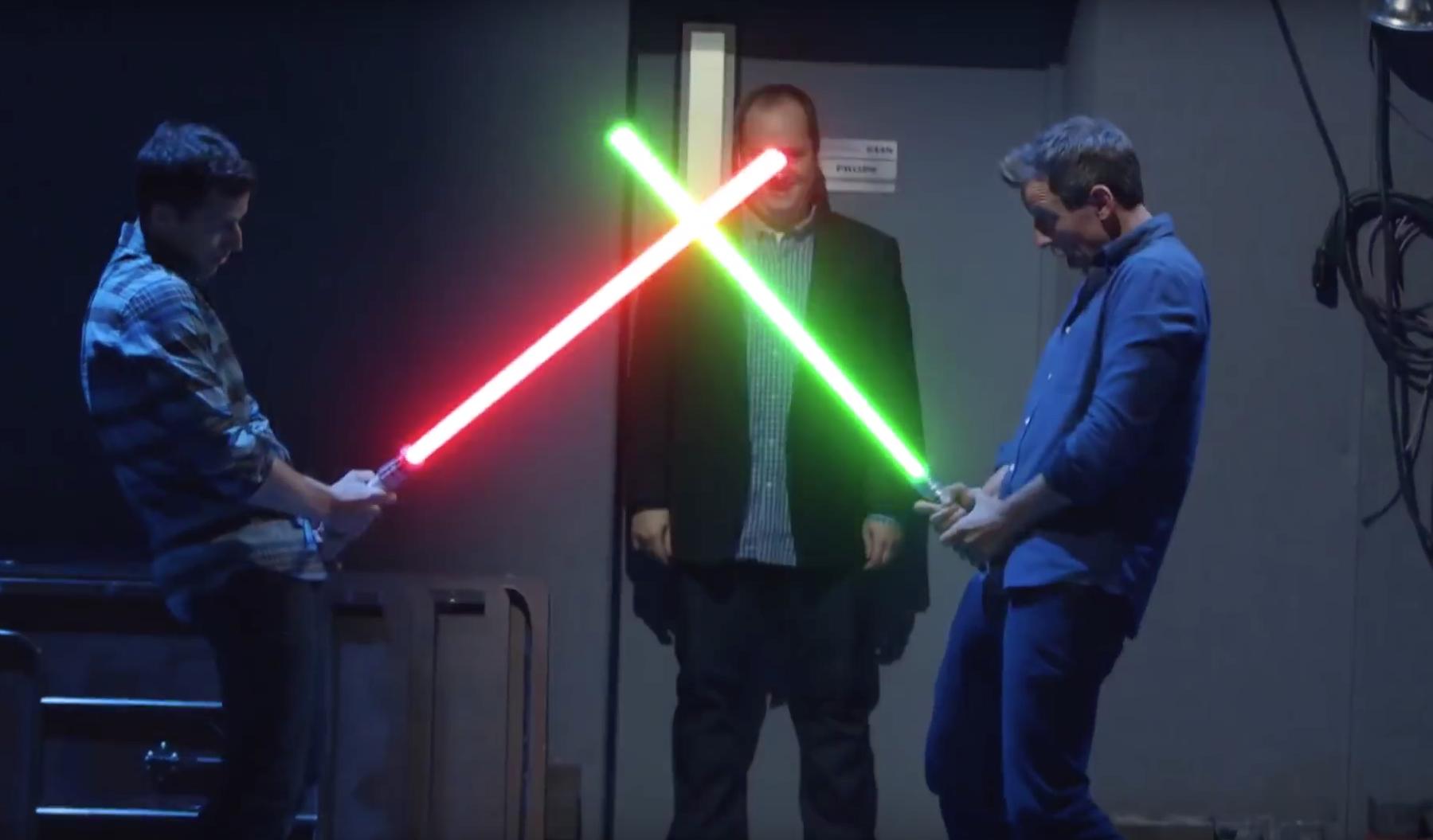 Star Wars Lightsaber Duel Png & Free Star Wars Lightsaber.