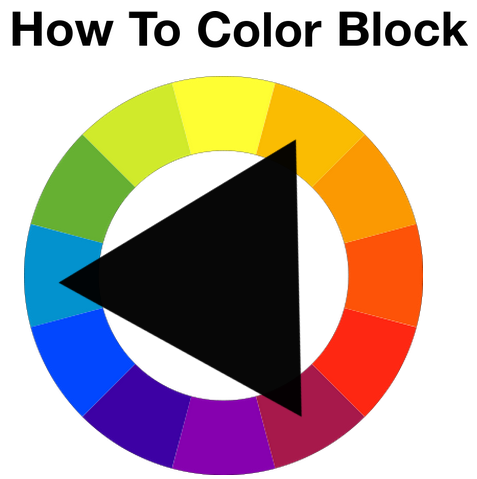 How To Colour Block: A helpful hint provided by Style Prompt is to.