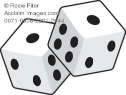 Dice clipart two, Picture #905494 dice clipart two.