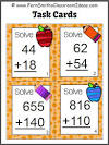 Two digit addition clipart.
