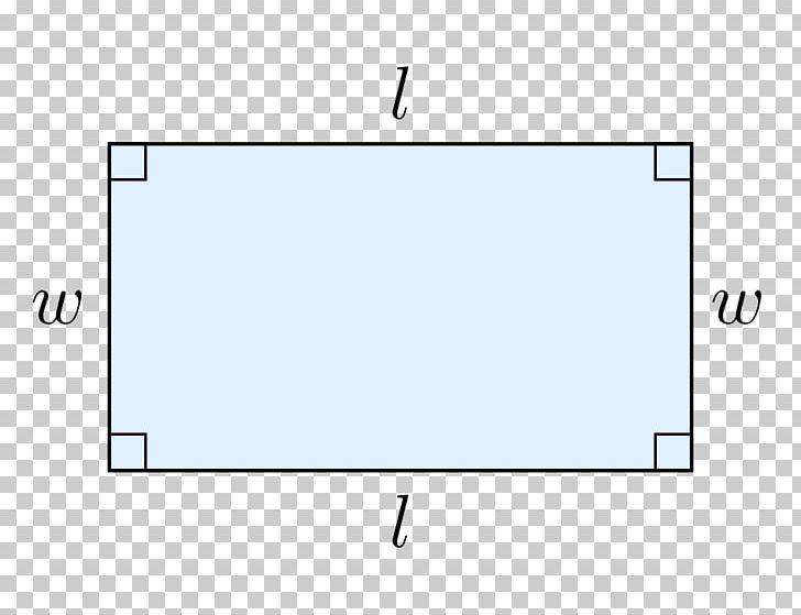 Rectangle Area Length Perimeter Two.