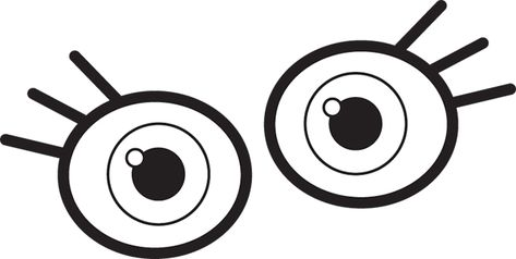 An illustration of two eyes..