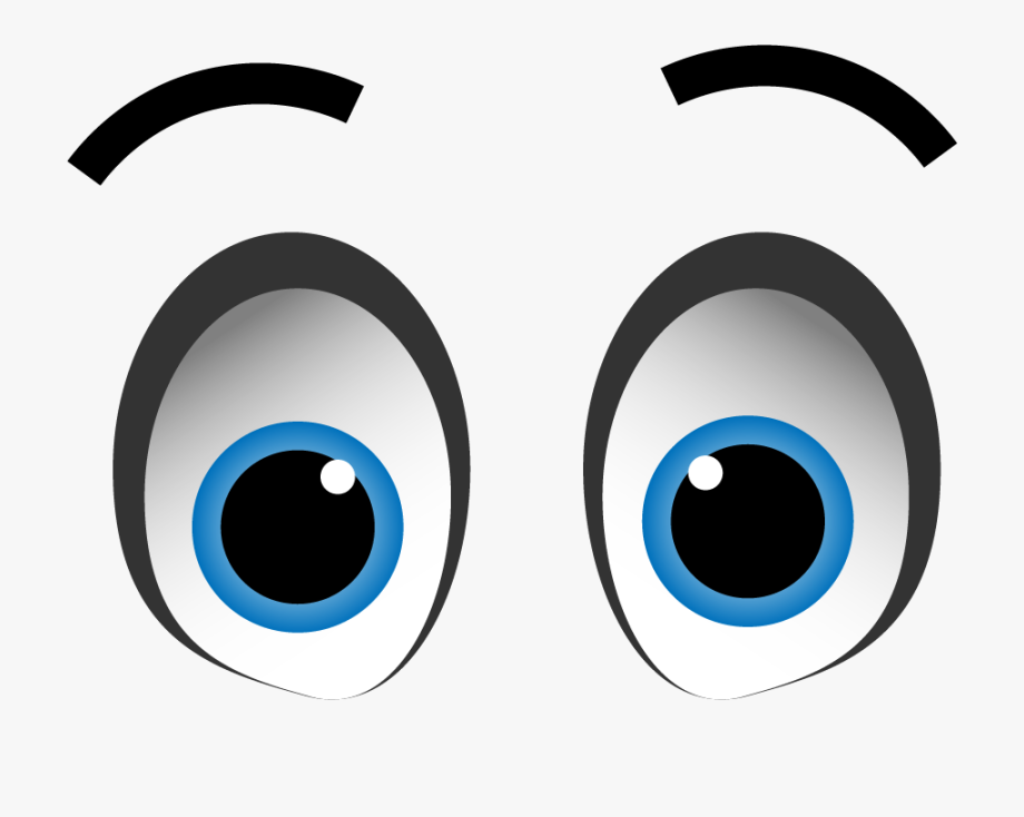 11 Expression Cartoon Eyes With Transparent Background.