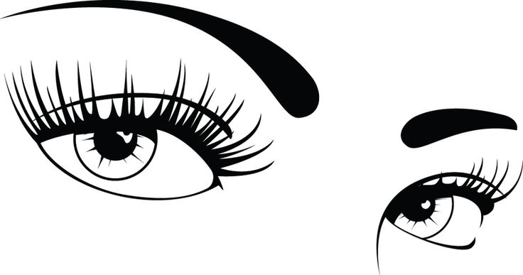 Two Eyes Clipart.