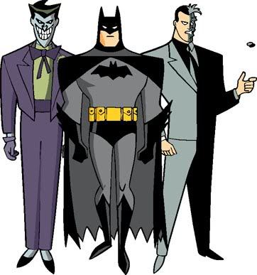 Batman, The Joker, Two.