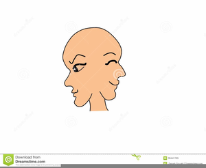 Clipart Two Faced.