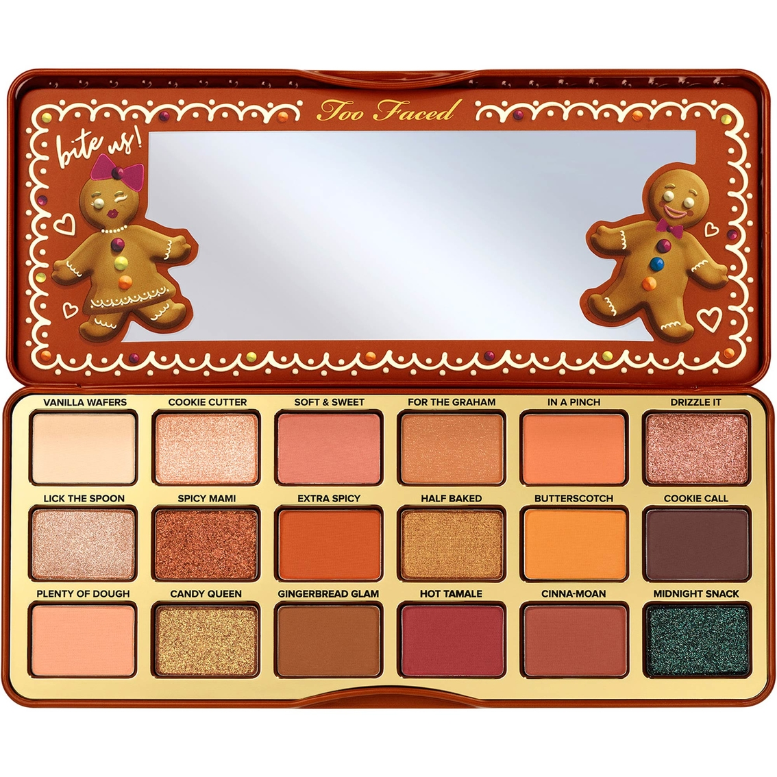 Too Faced Gingerbread Extra Spicy Eye Shadow Palette.