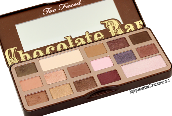 Too Faced Chocolate Bar Palette Looks.