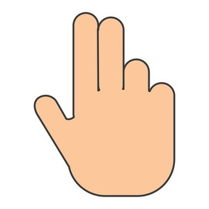 Two fingers up clipart 3 » Clipart Portal.