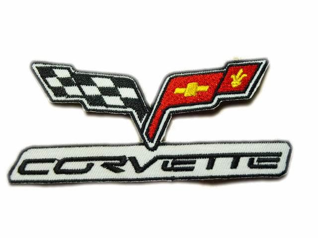 Two Flags Car Logo.