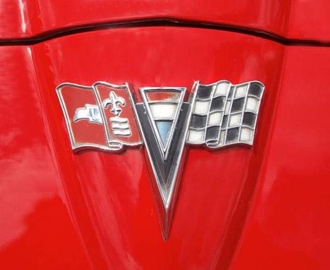 Corvette Logo: Vette Stingray Coupe.