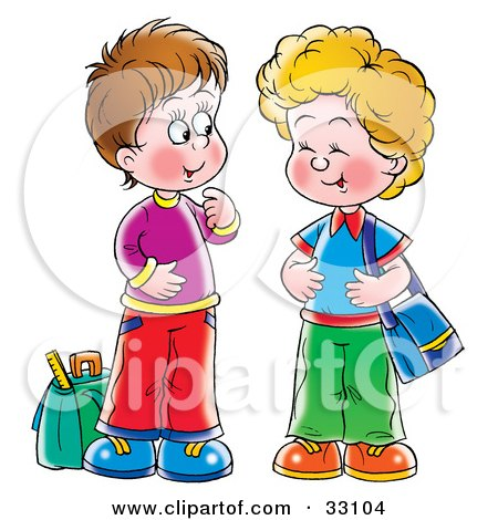 Gallery For > Two Girls Talking Clipart.
