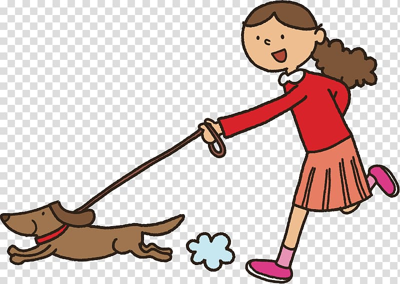 Dog Puppy Strolling Pet , cartoon cute transparent.