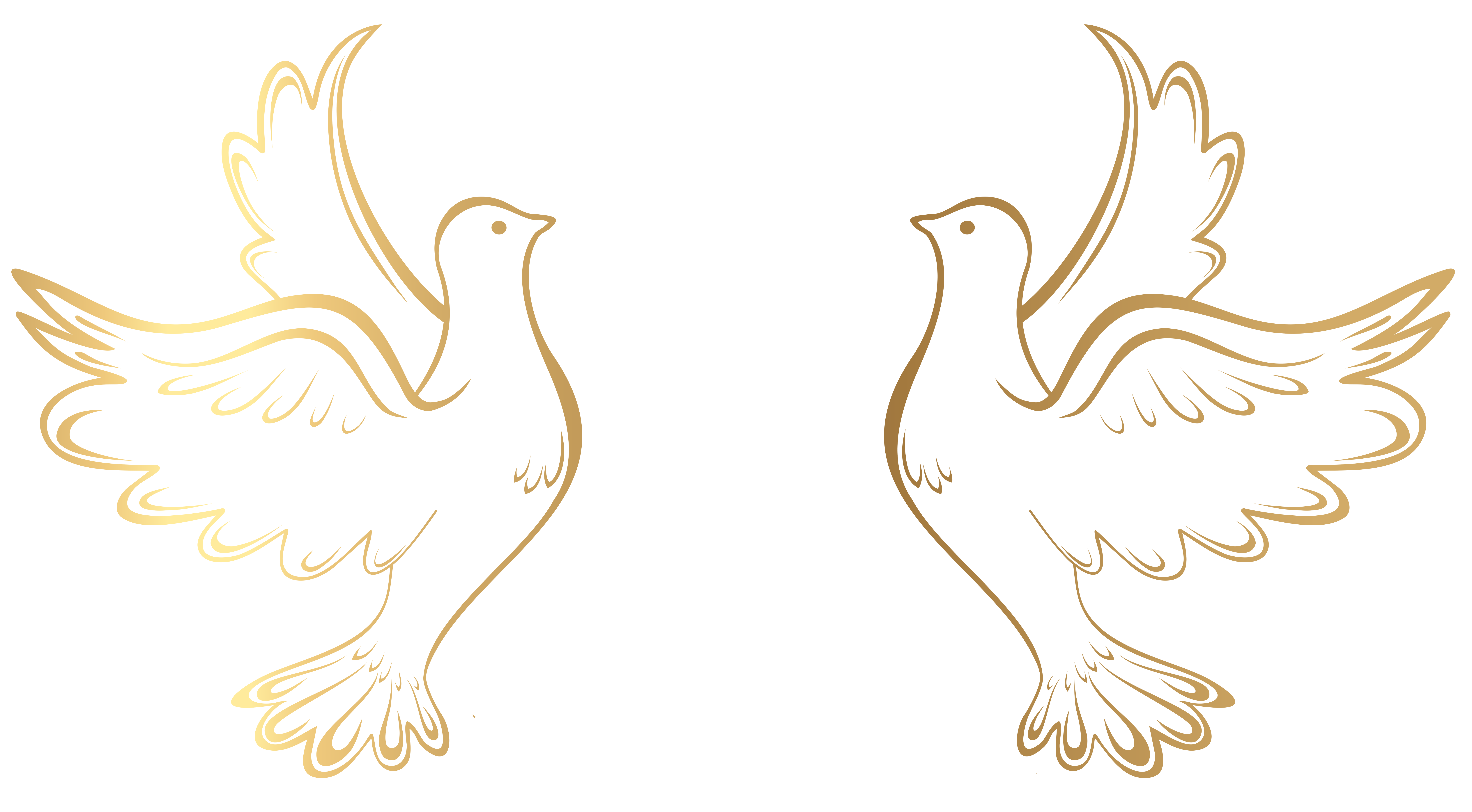 457 Doves free clipart.