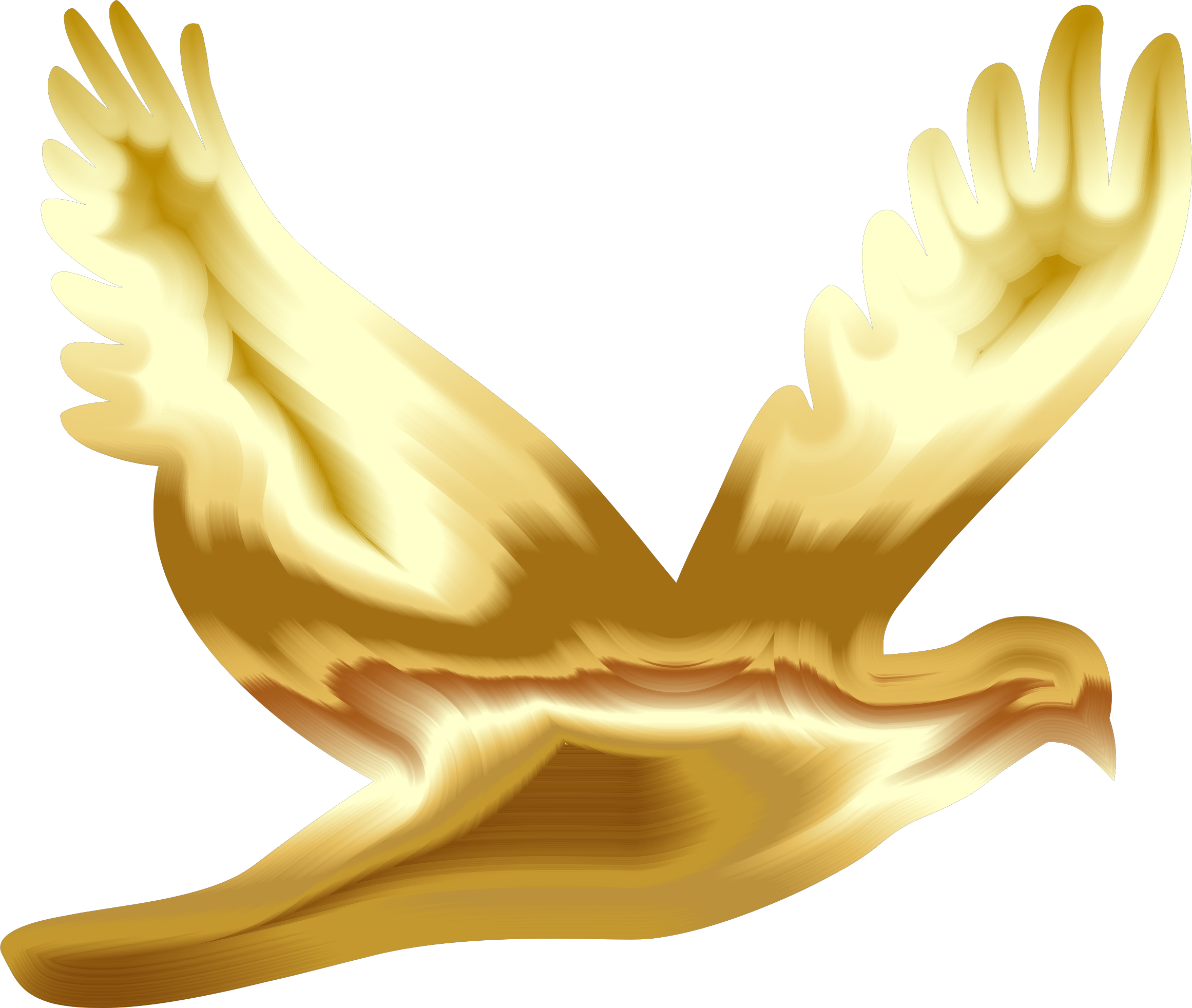 Doves Clipart Yellow.