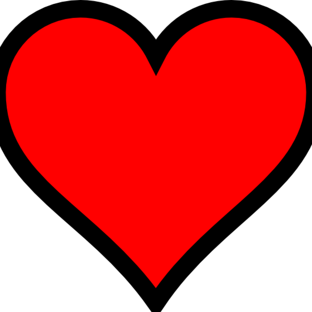 2111 Red Heart free clipart.