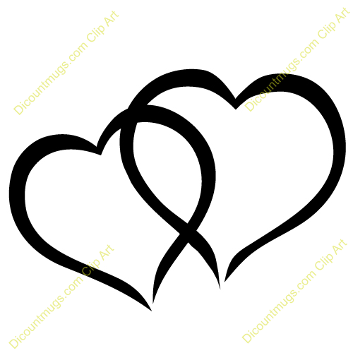 Wedding two hearts clipart 4 » Clipart Portal.