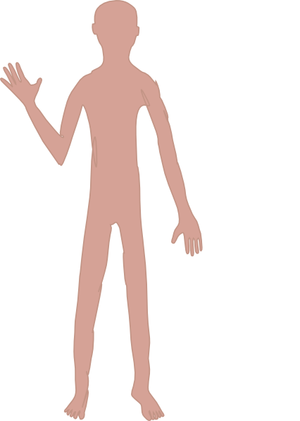 Male Body One Clip Art at Clker.com.