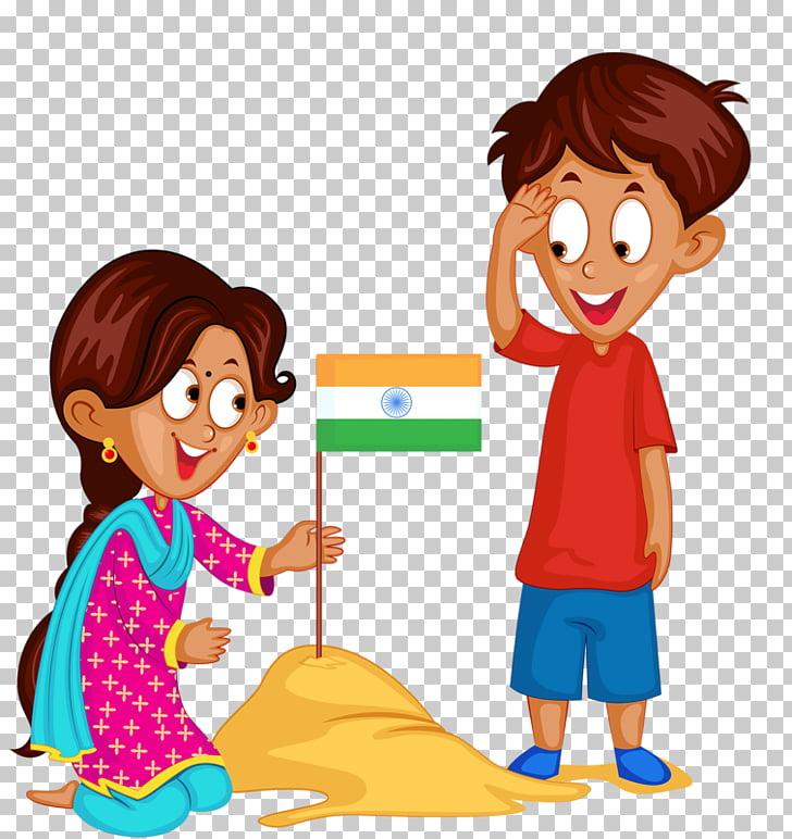Flag of India Stock photography , India flag, woman holding.