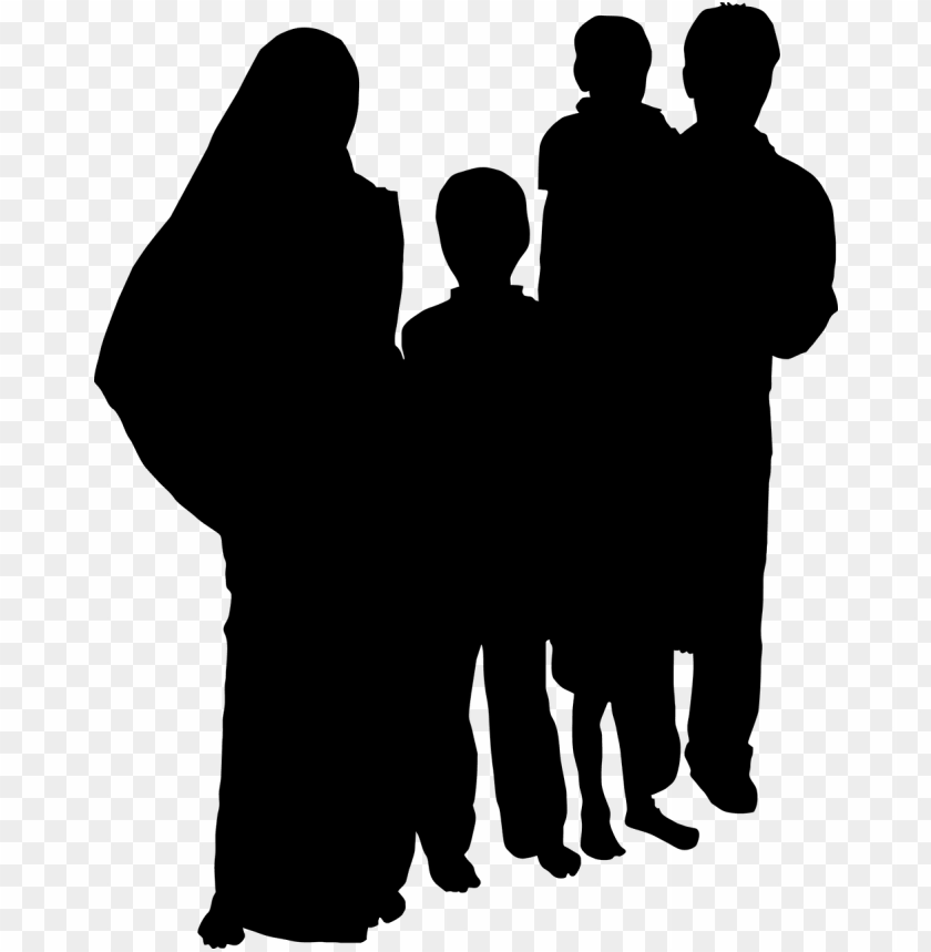 indian family clipart black and white.