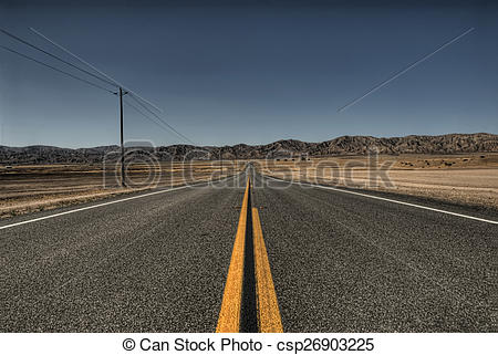 Stock Photo of Highway To Infinity.
