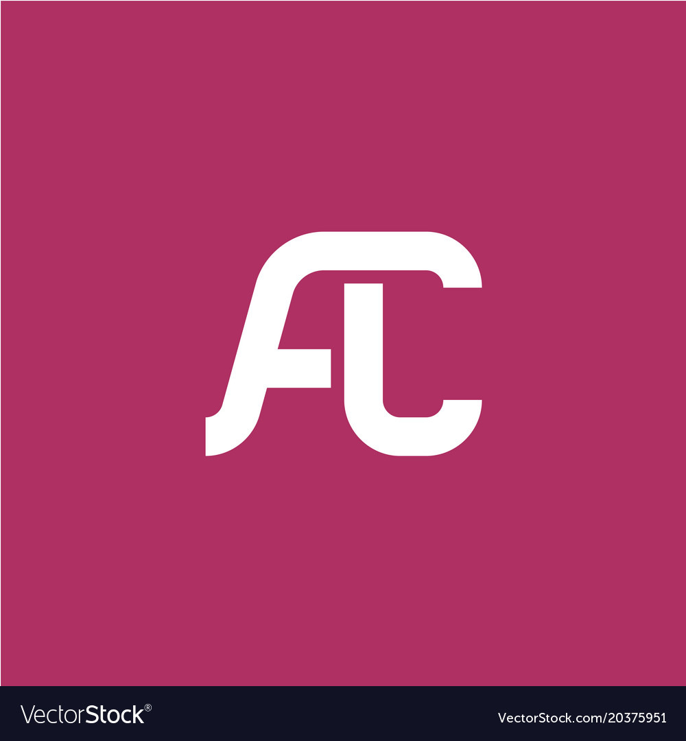 Two letters a and c ligature logo.