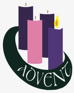 Free Advent Candles Clip Art with No Background.